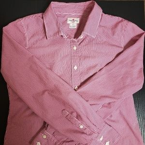 J. CREW Haberdashery Gingham Button Down Casual
